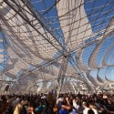 Architectural League Announces 2012 Winners of Emerging Voices Award (1) Netscape, SCI-Arc Graduation Pavilion, Los Angeles, CA, 2011 /   and courtesy of Oyler Wu Collaborative