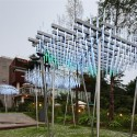 Architectural League Announces 2012 Winners of Emerging Voices Award (8) Cloud, an interactive light and sound sculpture / courtesy of SsD