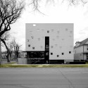 Architectural League Announces 2012 Winners of Emerging Voices Award (3) Welcome Place, street view /  and courtesy of 5468796 architecture