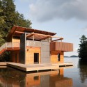 Muskoka Boathouse / Christopher Simmonds Architect  Peter Fritz Photography
