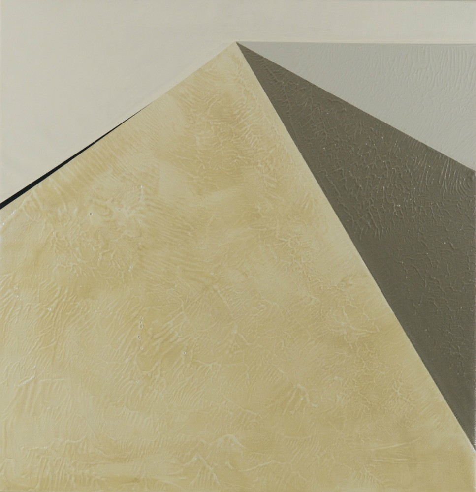"Julie Davidow's ""archiTECTONIC"" Paintings at Diana Lowenstein Gallery"