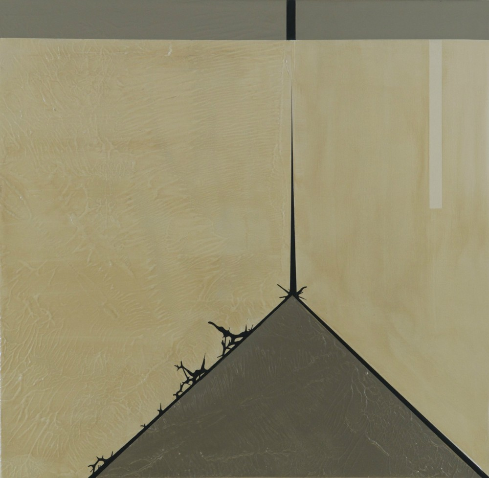 Julie Davidow&#8217;s &#8220;archiTECTONIC&#8221; Paintings at Diana Lowenstein Gallery