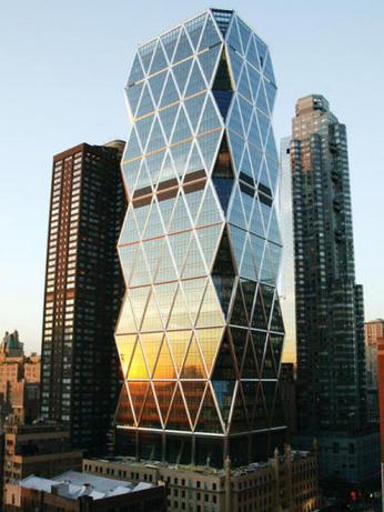 برج هرست ، معماری پایدار ، نورمن فاستر