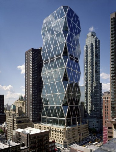 معماری پایدار برج هرست ، نورمن فاستر برج هرست