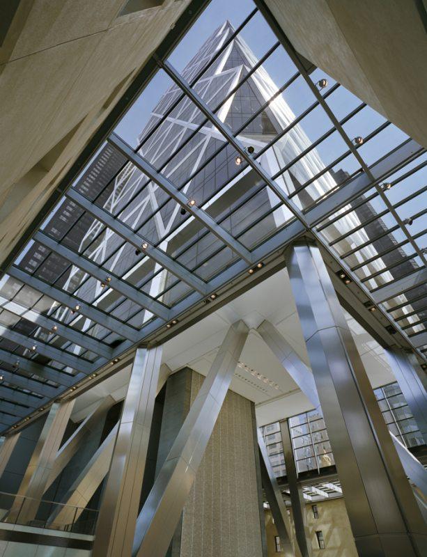 برج هرست ، معماری پایدار نور
