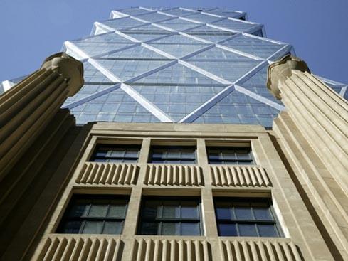 معماری پایدار ، معماری برج هرست