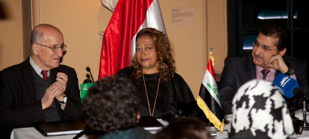 Zaha Hadid Architects and Central Bank of Iraq sign agreement for new Headquarters