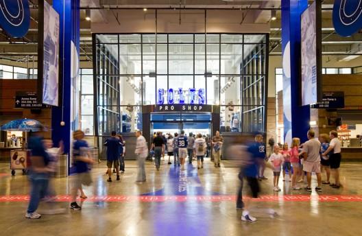 Super Bowl Xlvi Lucas Oil Stadium Archdaily