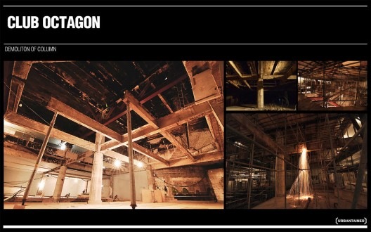 Club Octagon / Urbantainer | ArchDaily