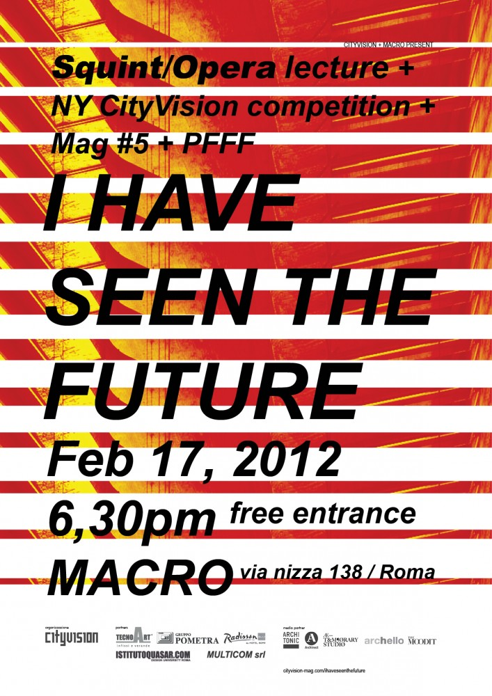 'I Have Seen the Future' Event / CityVision