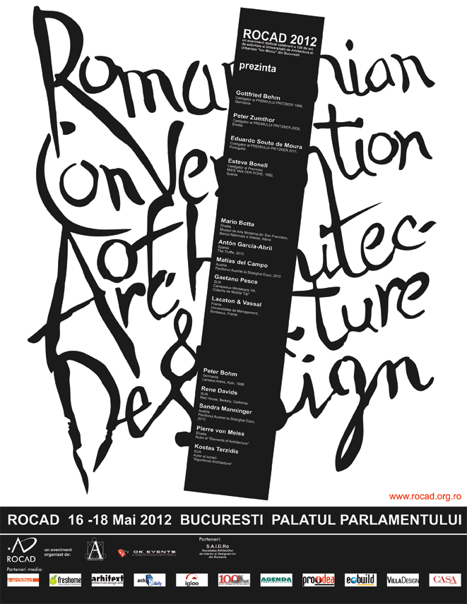 Romanian Convention of Architecture and Design (ROCAD) 2012