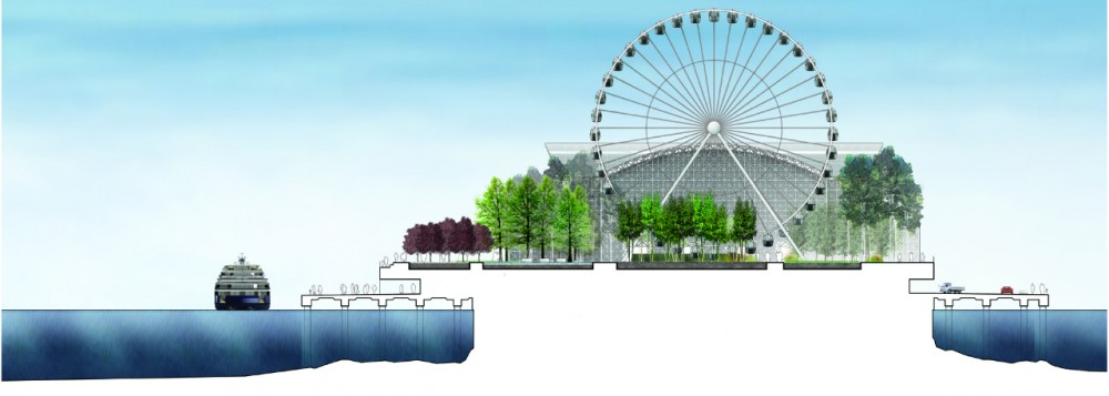 Chicago Navy Pier / Team X, led by Xavier Vendrell Studio