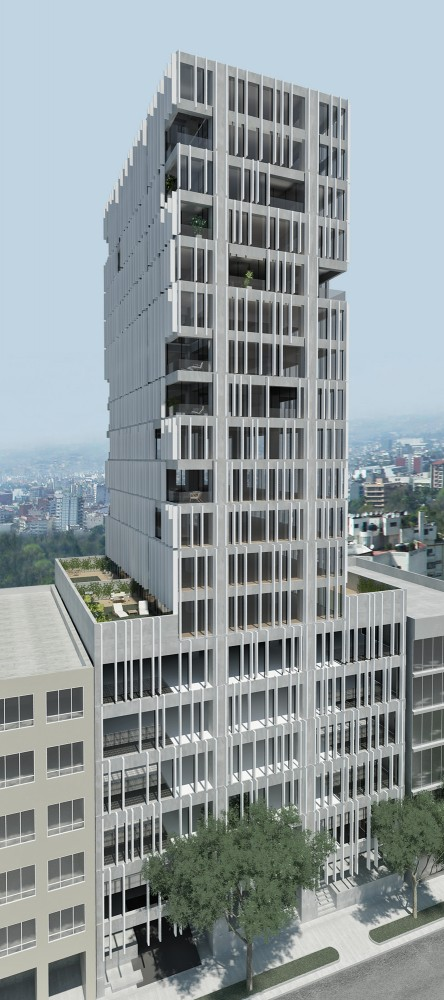 In Progress: Amsterdam Tower / JS