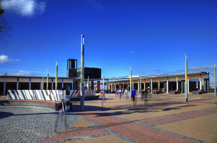 Kuyasa Transport Interchange / MEYER+VORSTER Architects