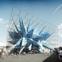 Rendering of HWKNs Wendy, winning design of Young Architects Program 2012. Image courtesy of HWKN.