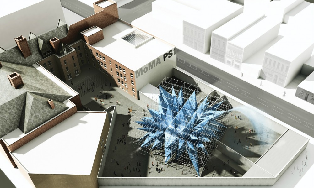 HWKN wins the 2012 Young Architects Program at MoMA PS1 in New York
