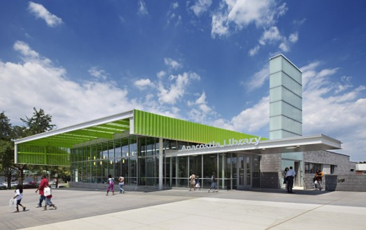 The Freelon Group's Anacostia Library / © Mark Herboth