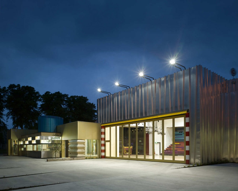 UK Centre For The Carnival Arts / Ash Sakula Architects