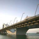 Sheikh Zayed Bridge / Zaha Hadid Architects © Christian Richters