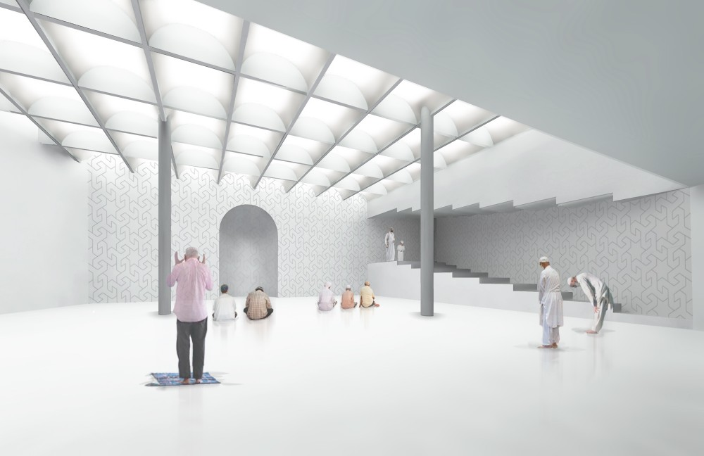 Room For Prayer: Mosque and Cultural Center / Studio 
