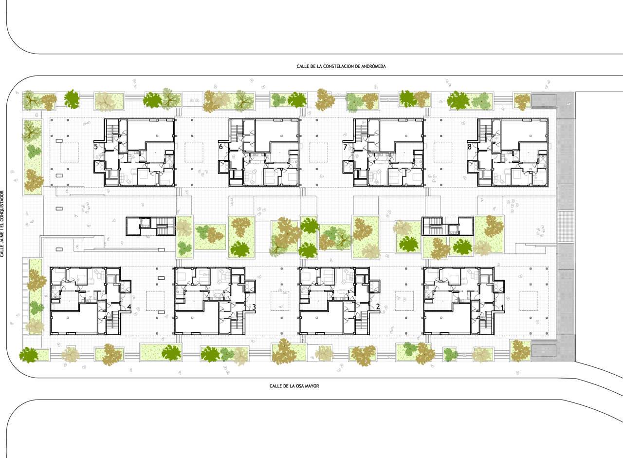 Floor Plans On Pinterest Site Plans Social Housing And