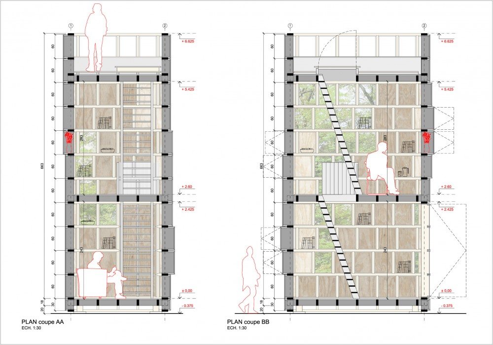 Archi&laquo;20 Competition Proposal / CLP Architectes