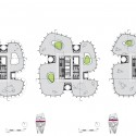 Multiple Natures - Fibrous Tower / soma (12) Plan Diagram - Courtesy of soma