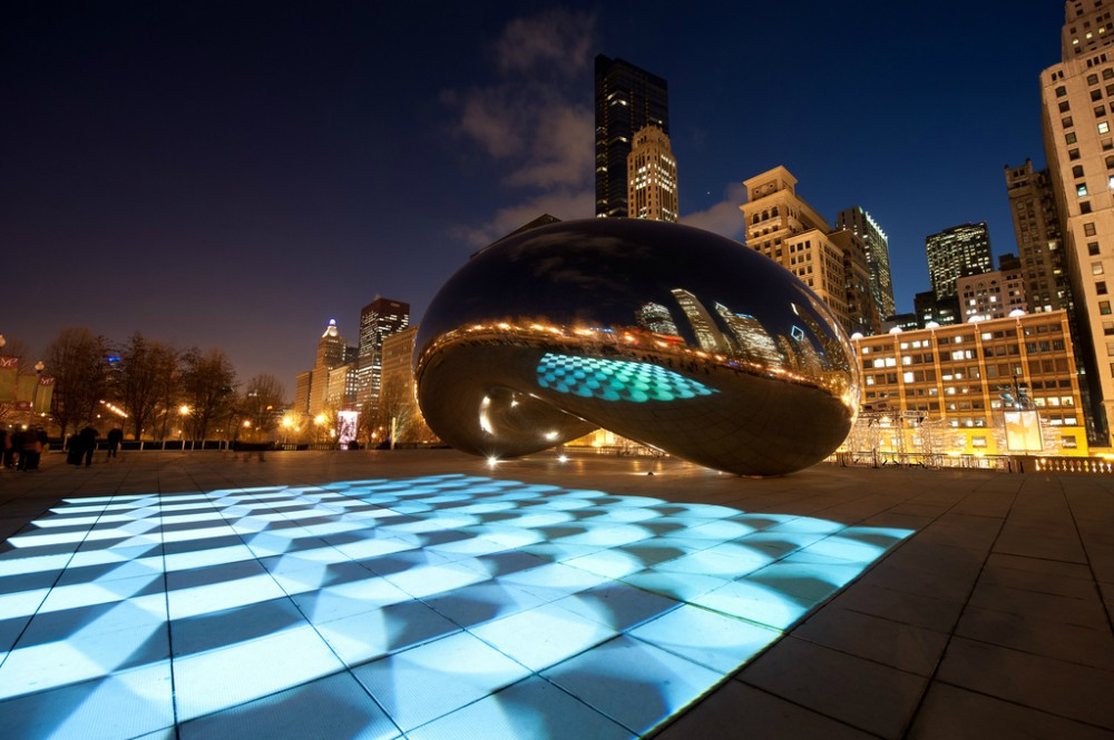 Luftwerk's Luminous Field lights up Millennium Park