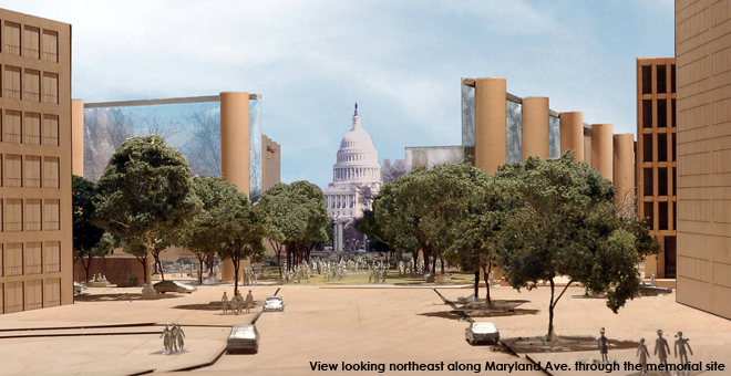 Krier speaks out against Gehrys Eisenhower Memorial design