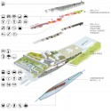 Europan 11 Proposal: Effets de Serres (7) exploded axonometric