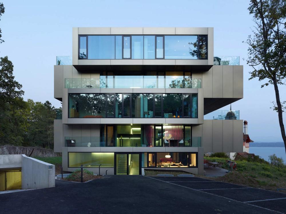 Residential Building L'Ermitage / Andrea Pelati Architecte + Ipas ...