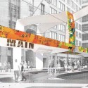 Downtown Houston Central Station Design Competition Interloop-Architecture