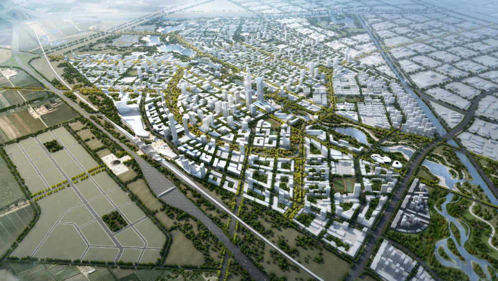SOM Wins Master Plan Competition for Beijing Bohai Innovation City