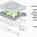 Emerging New York Architects Competition Proposal (14) axonometric
