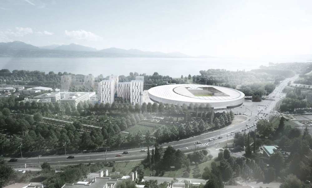 Sports Complex and Urban Re-design / gmp Architekten