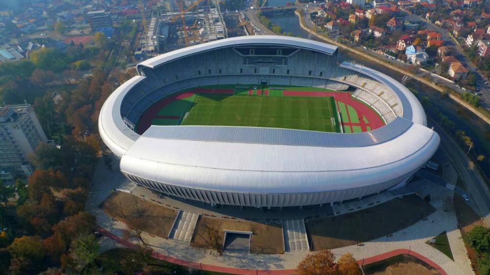 Cluj Arena / Dico si Tiganas © Dico si Tiganas
