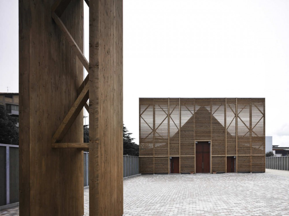 L'Aquila Church / Antonio Citterio Patricia Viel and Partners