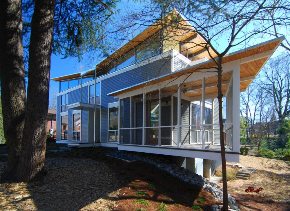 The RainShine House / Robert M. Cain