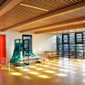 Lamoricire School (11) multi-purpose room /  Fabien Terreaux &amp; Thomas Jorion