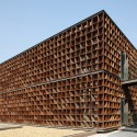Plot 6 & Tea House in Jiangsu Software Park / Atelier Deshaus (9) © Shu He
