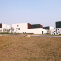 Plot 6 & Tea House in Jiangsu Software Park / Atelier Deshaus (6) © Shu He