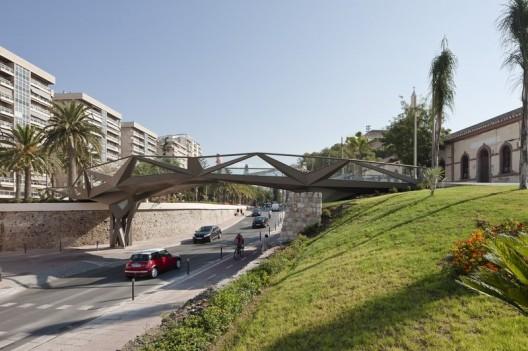 Motril footbridge guij n arquitectura archdaily for Arquitectura granada