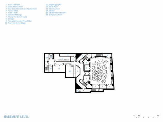 Bellarmine college preparatory steinberg architects for Vice president house floor plan