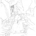 5 Álvaro Siza, Sketch from notebook #399, Macchu Picchu, Peru, 1995. © Álvaro Siza, Architect