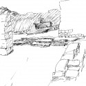 7 Álvaro Siza, Sketch from notebook #399, Macchu Picchu, Peru, 1995. © Álvaro Siza, Architect.