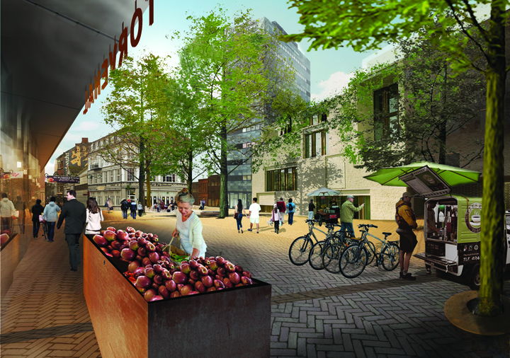 &#8216;Thomas B. Thrigesgade&#8217; City Design / entasis