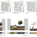 """e_co_llectiva"" Urban Design Project (9) layers of the project and sections"
