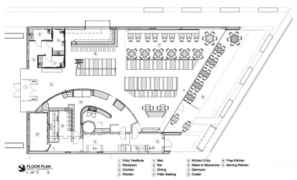 cafe 501 elliott associates architects archdaily