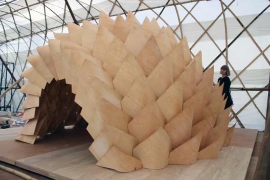 Dragon Skin Fabric Dragon Skin Pavilion / Emmi