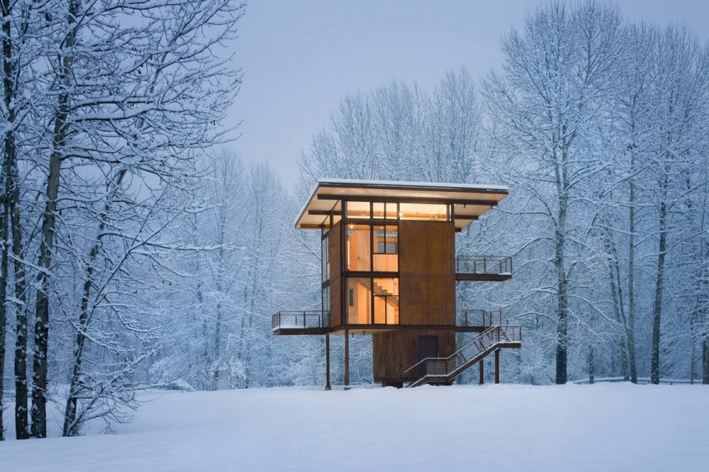 Delta Shelter / Olson Kundig Architects
